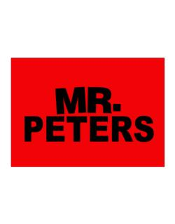 Mr. Peters Sticker