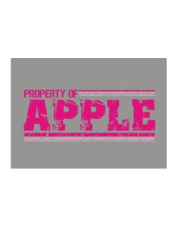 Property Of Apple - Vintage Sticker