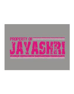 Property Of Jayashri - Vintage Sticker
