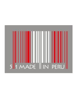 Made in Peru cool design  Sticker