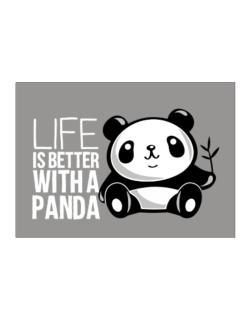 Life is better with a panda Sticker