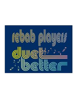 Rebab Players Duet Better Sticker
