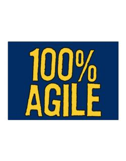 100% Agile Sticker