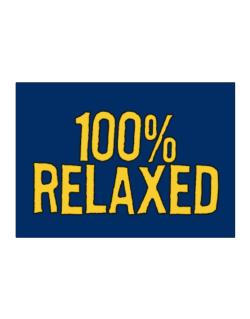 100% Relaxed Sticker
