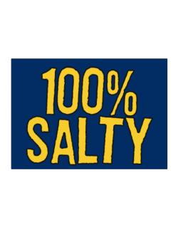 100% Salty Sticker