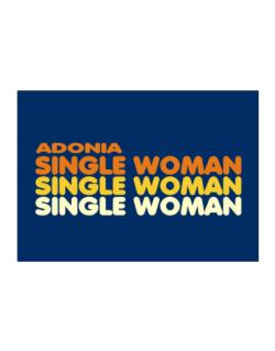 Adonia Single Woman Sticker