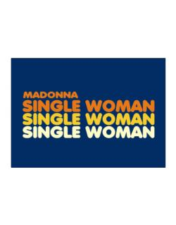 Madonna Single Woman Sticker