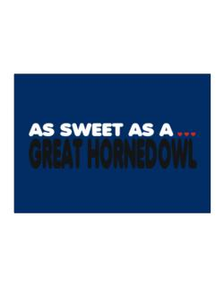 As Sweet As A Great Horned Owl Sticker