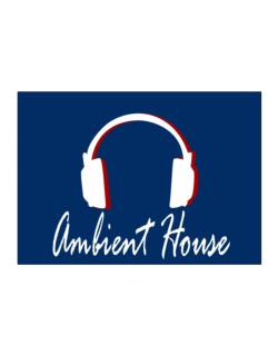 Ambient House - Headphones Sticker