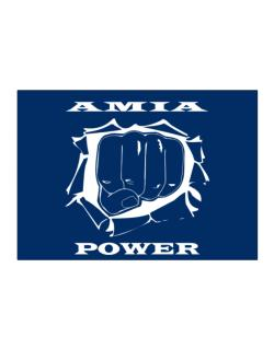 Amia Power Sticker