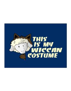 This Is My Wiccan Costume Sticker