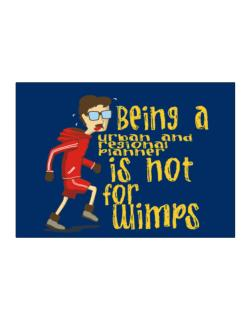 Being An Urban And Regional Planner Is Not For Wimps Sticker