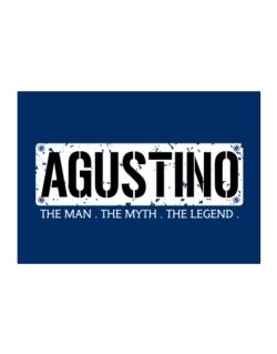 Agustino : The Man - The Myth - The Legend Sticker