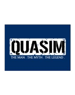 Quasim : The Man - The Myth - The Legend Sticker