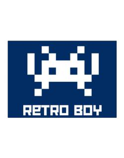 Retro Boy Sticker
