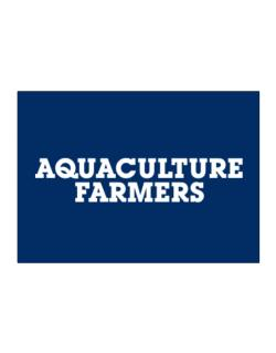 Aquaculture Farmers Simple Sticker