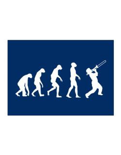 Trombone Evolution Sticker