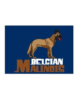Belgian malinois cute dog Sticker