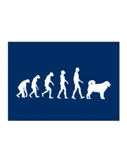 Wetterhoun evolution Sticker