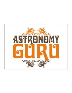 Astronomy Guru Sticker