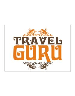 Travel Guru Sticker