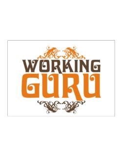 Working Guru Sticker