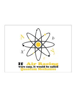 If Air Racing Were Easy, It Would Be Called Quantum Mechanics Sticker