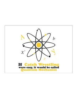 If Catch Wrestling Were Easy, It Would Be Called Quantum Mechanics Sticker