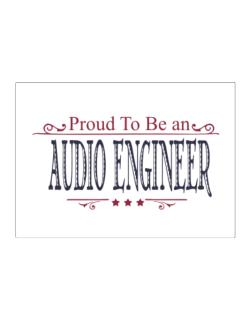Proud To Be An Audio Engineer Sticker