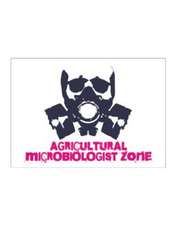 Agricultural Microbiologist Zone - Gas Mask Sticker