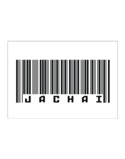Bar Code Jachai Sticker