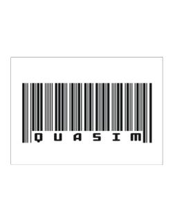 Bar Code Quasim Sticker