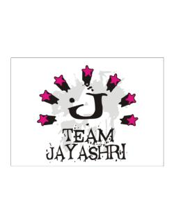Team Jayashri - Initial Sticker