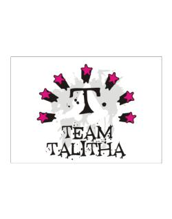 Team Talitha - Initial Sticker