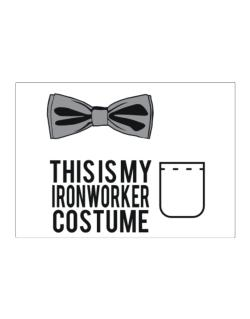 this is my Ironworker costume Sticker