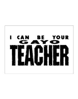 I Can Be You Gayo Teacher Sticker