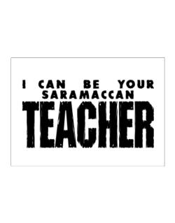 I Can Be You Saramaccan Teacher Sticker