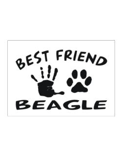My Best Friend Is My Beagle Sticker