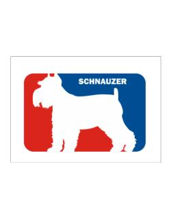 Schnauzer Sports Logo  Sticker