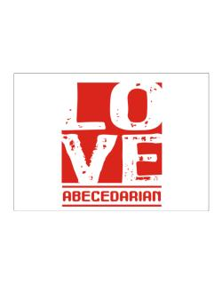 Love Abecedarian Sticker