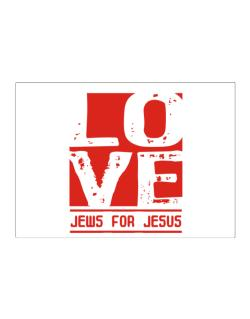 Love Jews For Jesus Sticker