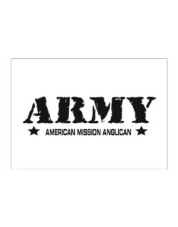 Army American Mission Anglican Sticker