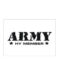 Army Hy Member Sticker