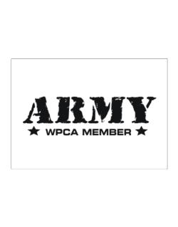 Army Wpca Member Sticker