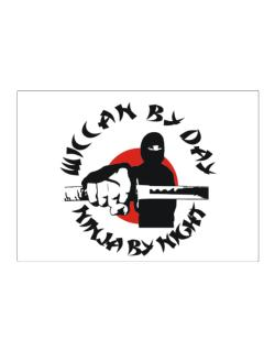 Wiccan By Day, Ninja By Night Sticker