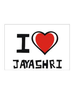 I Love Jayashri Sticker