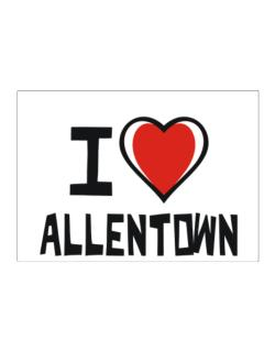 I Love Allentown Sticker