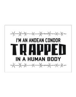 I Am Andean Condor Trapped In A Human Body Sticker