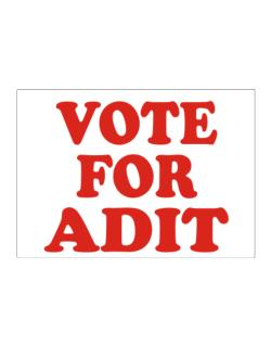 Vote For Adit Sticker