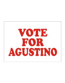 Vote For Agustino Sticker